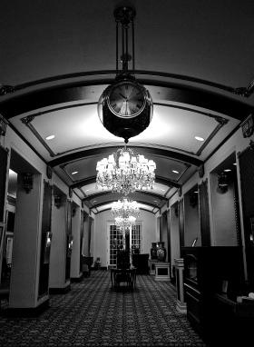 Lobby at Hotel Saskatchewan