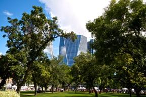 Victoria Park, Farmer's Market and Downtown Regina