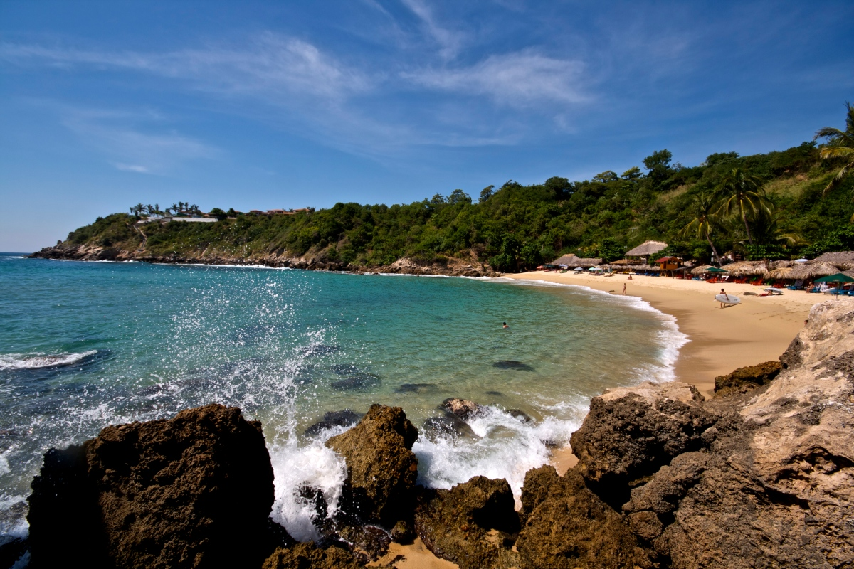 how to get to puerto escondido